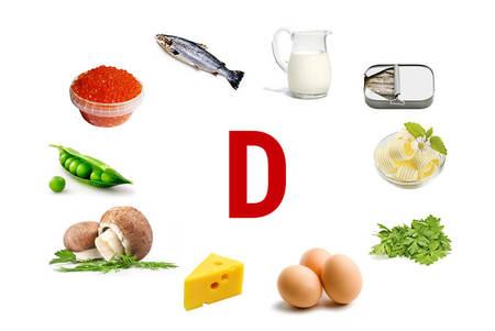 Вит д в каких продуктах содержится