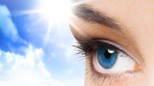 Соляризация глаз на солнце